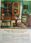 Drexel Furniture Living Royally Ad 1966