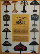 Tiffanys Garden In Glass Lamps Article 1964