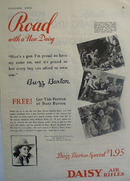 Daisy Rifle And Buzz Barton Ad 1932