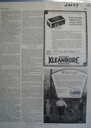 Kleanbore Cartridges Improved 22 Cal Shot Ad 1928