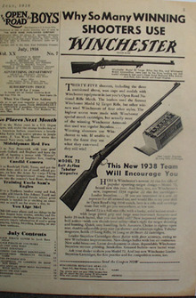 Winchester Why Shooters Use Winchester Ad 1938