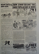 Hohner Harmonica Jimmy Most Popular Boy Ad 1936