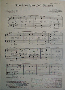 Star Spangled Banner Words Music Article 1938