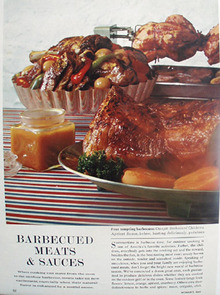 Barbecued Meats And Sauces Article 1964