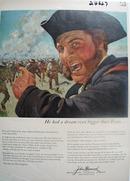 John Hancock Insurance And Sam Houston Ad 1958