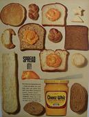 Cheez Whiz Spread It Ad 1965
