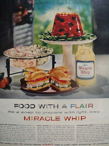 Miracle Whip food With Flair Ad 1959