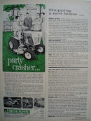 Bolens Party Crasher Tractor Ad 1964