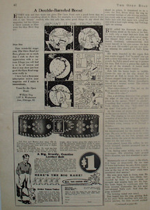 Rodeo Belt Christmas Ad 1935