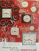 Westclox Clocks Christmas Ad 1960