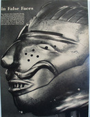 Steely Look At False Faces Pictures 1958