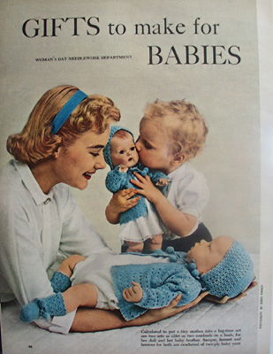 Gifts to Make for Babies Article.1954