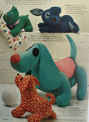 Toy Dogs Designed By Joan Russell Article 1964