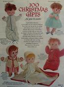 100 Christmas Gifts Ad 1969
