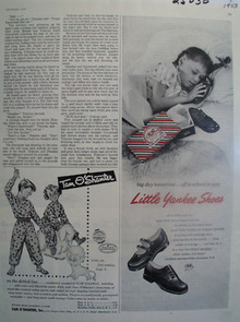 Little Yankee Shoes Big Day Tomorrow Ad 1933