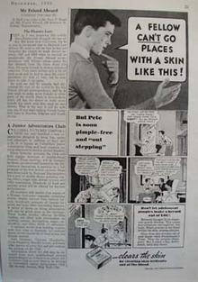 Fleishmanns Clears Petes Skin Ad 1935