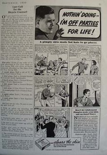 Fleishmanns Clears Nats Skin Ad 1936