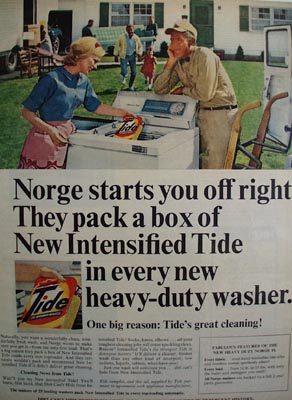 Norge Washer And Tide Ad 1966