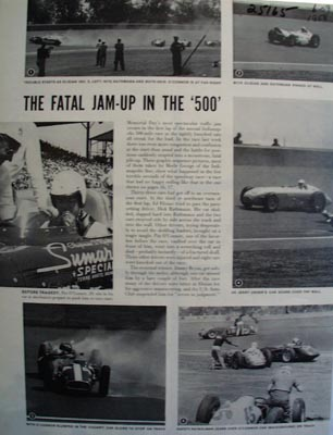 Fatal Jam Up in the 500 Ad 1958