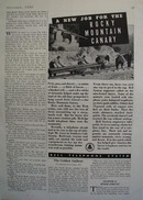 Bell System Rocky Mountain Canary Ad 1936