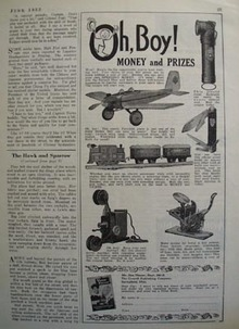 Crowell Pub Co Money And Prizes Ad 1932