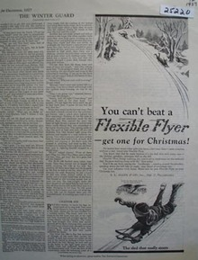 Flexible Flyer Christmas Ad 1927
