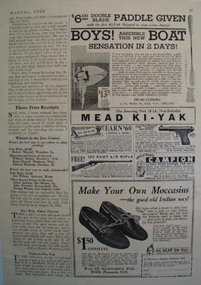 Mead Ki Yak Assemble This Boat Ad 1933