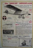 Mount Carmel Mfg Mocar Monoplane Model Article 1928