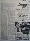 Kingsbury Toys Boy Lindberghs Attention Ad 1927