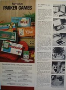 Parker Brothers Famous Parker Games Ad 1962