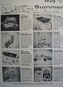 Summer Toyland For Vacation Fun Ad 1954