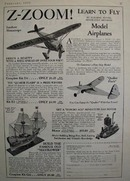 Open Road Model Airplanes Ad 1938