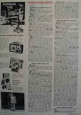 Playskool Toys Workbench Ad 1964