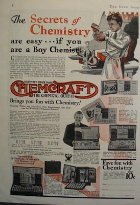 Porter Chemical Secrets of Chemistry Ad 1933