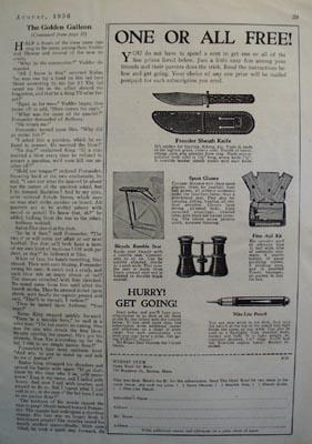 Winnit Club One or All Free Ad 1936