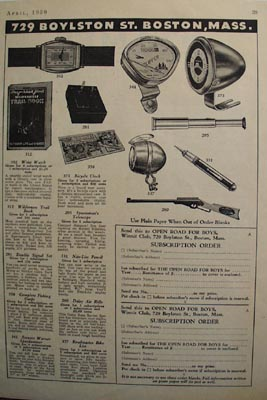 Winnit Club Ten Prizes Shown Ad 1939