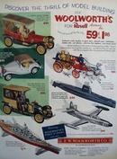 F.W.Woolworth 75th Anniversary Ad 1954