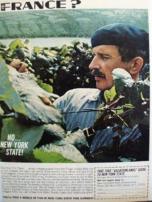 New York State Vacationland Ad 1966