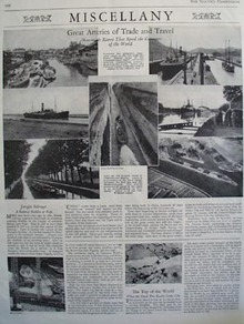 Arteries Of Trade And Travel Article With Pictures 1928