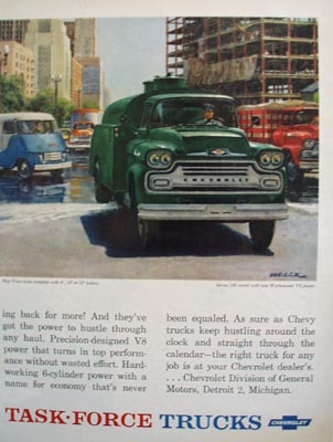 GMC Truck And American Trucking Industry Ad 1958