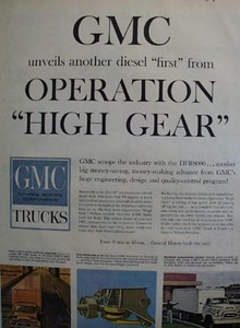 GMC Operation High Gear Ad 1959