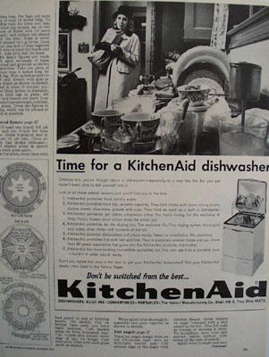 KitchenAid Dishwasher Tine For Ad 1965