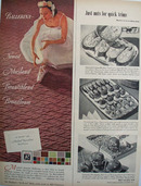 Masland Carpet And Ballerina Ad 1951