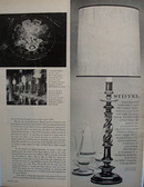 Stiffel Early 18th Century Lamp Ad 1966