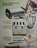 Toastmaster Six New Gifts Ad 1967