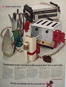 Toastmaster Christmas Ad 1968