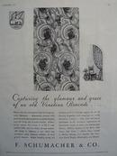 F Schumacher Venetian Brocade Ad 1931