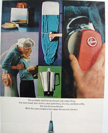 Hoover Makers Things Other Than Vacuums Ad 1966