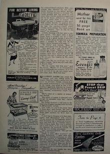 Farlite For Better Living Ad 1951