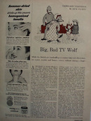 Big Bad TV Wolf Article By Jack Cluett  1954